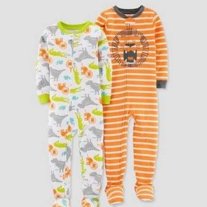 5T Just one You. by Carters lion pajamas set NWT
